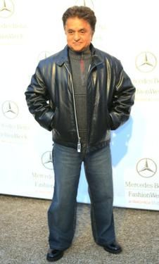 Deep Roy at the Mercedes Benz Fashion Week.