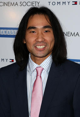"James Liao at the after party of the New York premiere of ""Management."""
