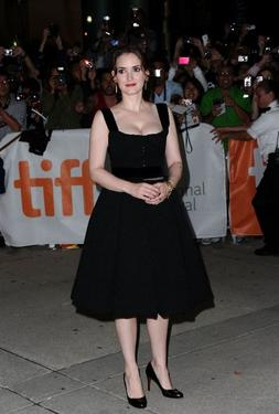 "Winona Ryder at the Canada premiere of ""Black Swan."""