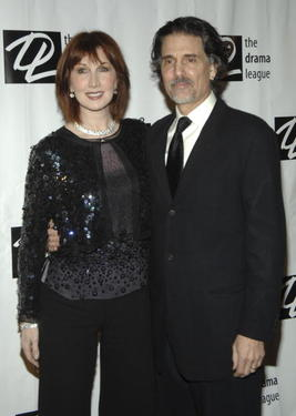Chris Sarandon and Joanna Gleason at the 22nd Annual Drama League Benefit Gala.