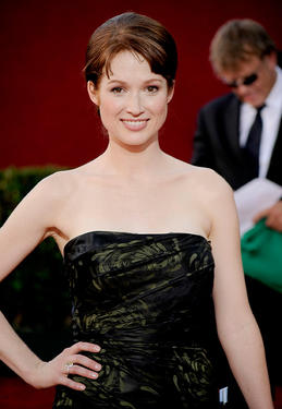 Ellie Kemper at the 61st Primetime Emmy Awards in California.