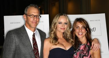 "Jonathan Parker, Marley Shelton and Catherine di Napoli at the California premiere of ""(Untitled)."""