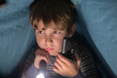 "Dakota Goyo in ""Dark Skies."""