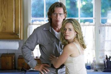 "Thomas Haden Church and Elisabeth Shue in ""Don McKay."""