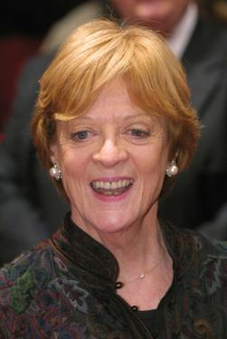 "Maggie Smith at the screening of ""Gosford Park"" at the Berlinale Film Festival."