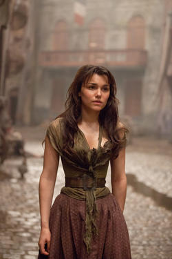 "Samantha Barks as Eponine in ""Les Miserables."""