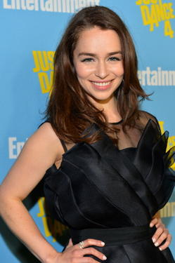 Emilia Clarke at 2012 Entertainment Weekly Comic-Con Party.