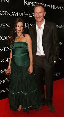 "Anna Friel and David Thewlis at the European premiere of ""Kingdom of Heaven."""