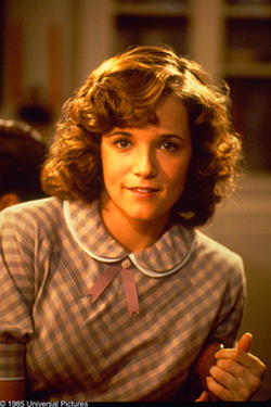 "Lea Thompson in ""Back to the Future."""