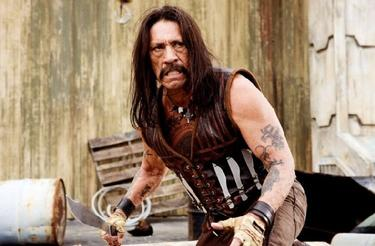 "Danny Trejo as Machete in ""Machete."""