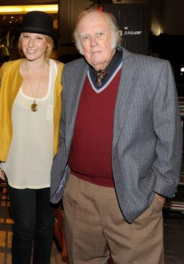 "Ari Graynor and M. Emmet Walsh at the AFI FEST 2009 screening of ""Youth in Revolt."""