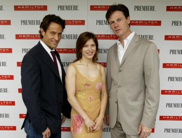 Melora Walters, Michael Kaplan and Paul Turcotte pose at the Timeless Style Awards.