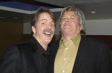 Jeff Foxworthy and Ron White at the Comedy Centrals Jeff Foxworthy Roast.