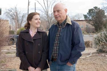 "Alan Arkin and Amy Adams in ""Sunshine Cleaning."""
