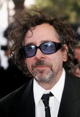 "Tim Burton at the premiere of ""Marie Antoinette"" during the 59th International Cannes Film Festival."