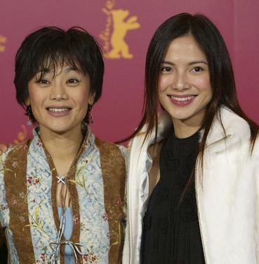 "Sylvia Chang and Lee Sinje at the photocall of ""20:30:40"" during the 54th Annual Berlinale International Film Festival."