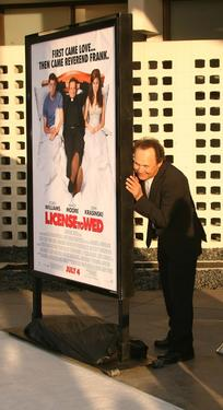 "Billy Crystal at the premiere of ""License to Wed""."