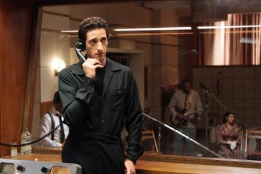 "Adrien Brody as Leonard Chess in ""Cadillac Records."""