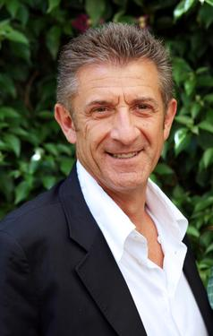 "Ezio Greggio at the photocall of ""Il Papa Di Giovanna."""