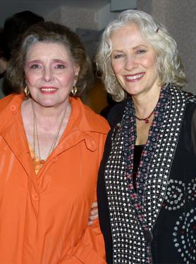 Betty Buckley and Kitty Carlisle Hart at 'You Gotta Have Hart,' a musical tribute to Hart.