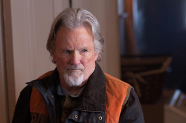 "Kris Kristofferson in ""Deadfall."""