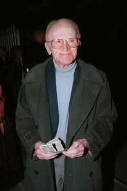 "Red Buttons at the after-party for the premiere of ""Lord Of The Rings: The Fellowship Of The Ring""."