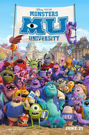 Poster for Monsters University 3D