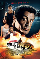 "Poster art for ""Bullet to the Head."""
