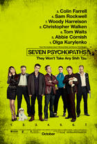"Poster art for ""Seven Psychopaths."""