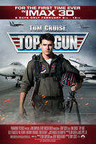 "Poster art for ""Top Gun: An IMAX 3D Experience."""