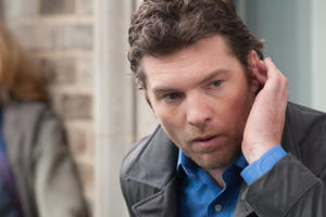 "Sam Worthington as Nick Cassidy in ""Man on a Ledge.''"