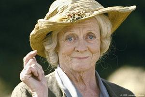 "Maggie Smith as Mrs. Docherty in ""Nanny McPhee Returns."""