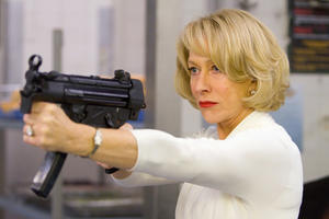 "Helen Mirren in ""Red."""