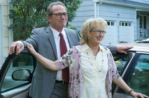 "Tommy Lee Jones as Arnold Soames and Meryl Streep as Kay Soames in ""Hope Springs."""