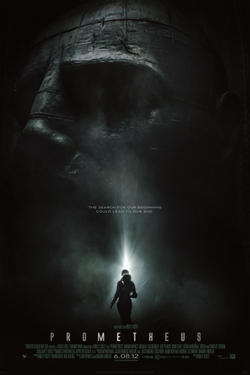 "Poster art for ""Prometheus 3D."""