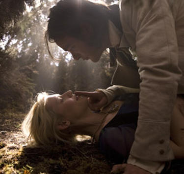 "Charlie Cox and Claire Danes in ""Stardust."""