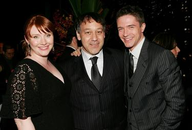 "Sam Raimi, Bryce Dallas Howard and Topher Grace at the Tribeca Film Festival after party of ""Spider-man 3""."