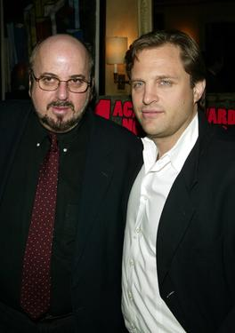 "James Toback and Michael Mailer at the lunch by Miramax for the movie ""City of God""."