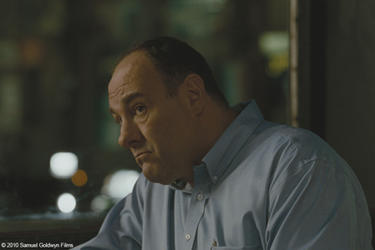 "James Gandolfini as Doug in ""Welcome to the Rileys."""