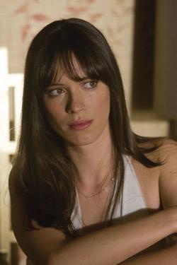 "Rebecca Hall as Caroline Cushing in ""Frost/Nixon."""