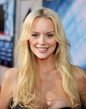 "Helena Mattsson at the premiere of ""Surrogates.'"