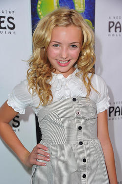 "Peyton R. List at the Los Angeles opening night of ""Shrek The Musical"" in California."
