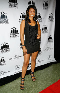 Shannon Kane at the 4th annual Thurgood Marshall College Fund Front Row Fashion Show in New York.