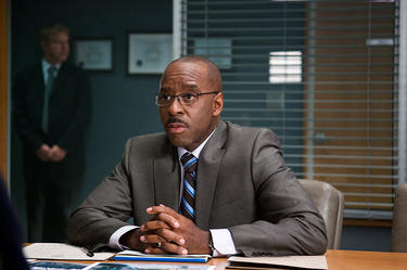 "Courtney B. Vance as Agent Block in ""Final Destination 5."""
