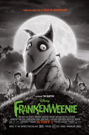 Poster art for Frankenweenie