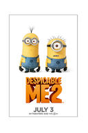 Poster for Despicable Me 2
