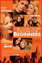 "Poster art for ""Puccini for Beginners."""