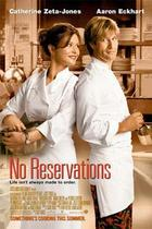 "Poster art for ""No Reservations."""