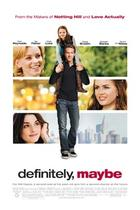 "Poster art for ""Definitely, Maybe."""