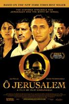 "Poster art for ""O Jerusalem."""